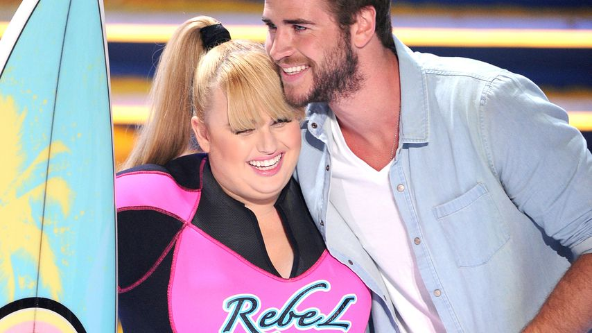 Rebel Wilson und Liam Hemsworth bei den Teen Choice Awards 2013