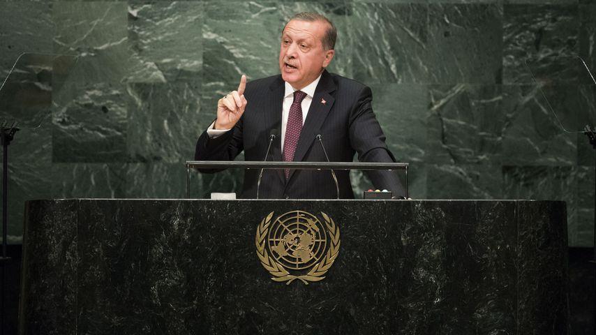 Recep Tayyip Erdoğan bei einer UN-Versammlung