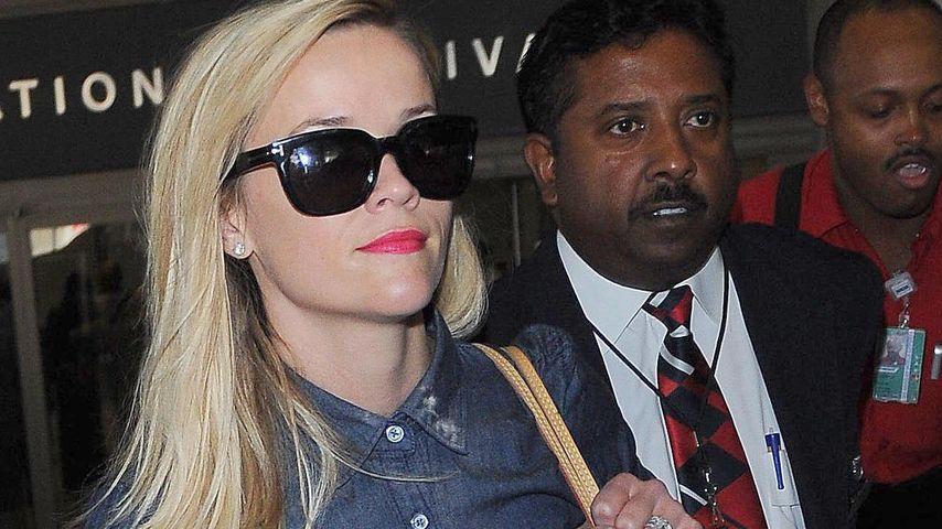 Lässig! Reese Witherspoon überzeugt im Denim-Look
