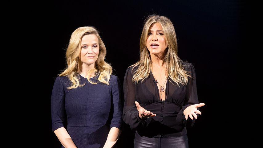 Reese Witherspoon und Jennifer Aniston 2019 in Kalifornien