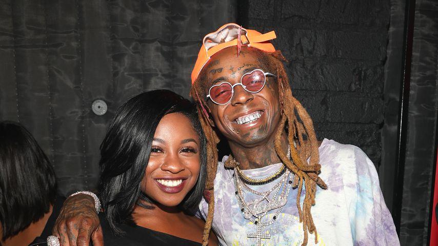 Reginae Carter und ihr Vater Lil Wayne