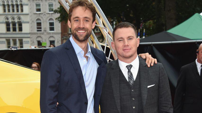 """Reid Carolin und Channing Tatum bei der """"Logan Lucky""""-Premiere in London im August 2017"""