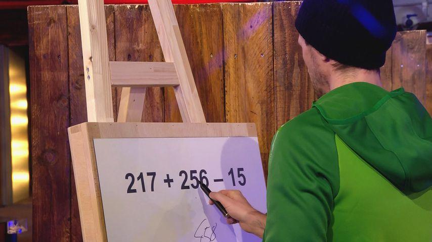 """René Carl bei der """"Big Brother""""-Challenge"""