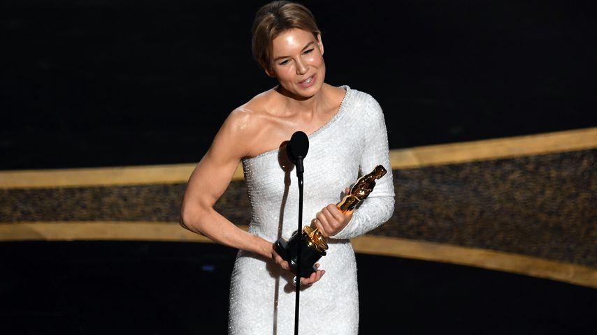 "Renée Zellweger, Oscar-Gewinnerin 2020 in der Kategorie ""Beste Hauptdarstellerin"""