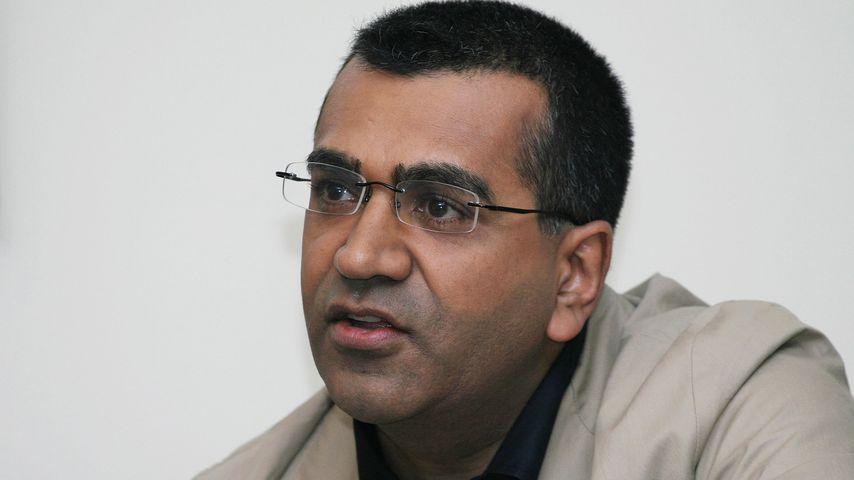 Reporter Martin Bashir bei einer Pressekonferenz in Beverly Hills 2008