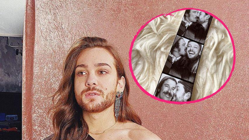 Zum Valentinstag: Riccardo Simonetti teilt süßes Paar-Pic