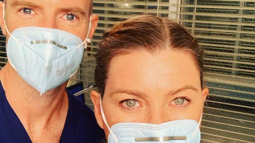 """Richard Flood und Ellen Pompeo, """"Grey's Anatomy""""-Darsteller"""