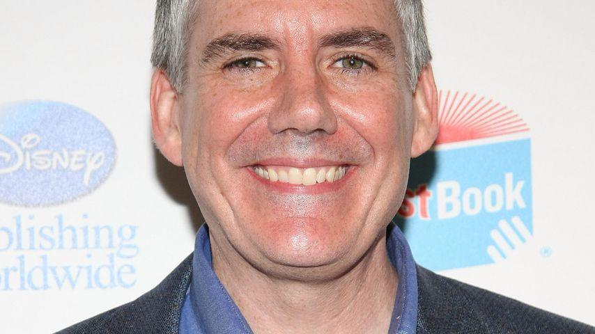Rick Riordan bei einer Konferenz in NYC im Mai 2011