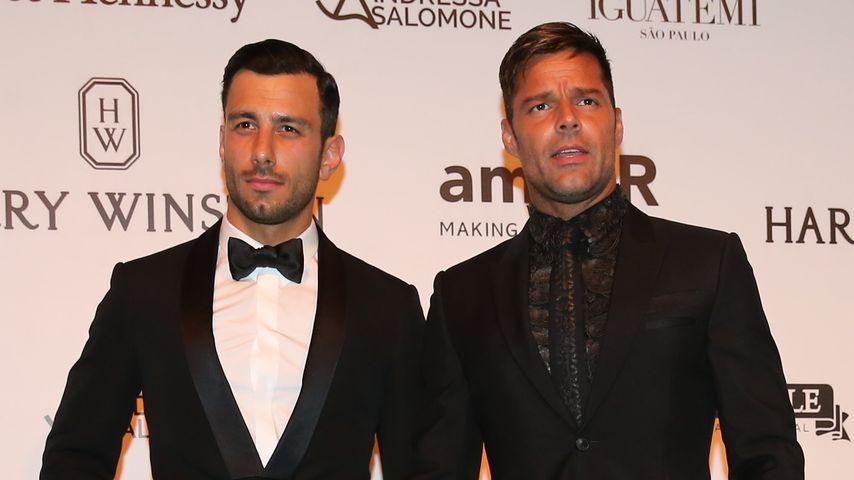Ricky Martin mit Jwan Yosef bei der amfAR-Gala in Braslien