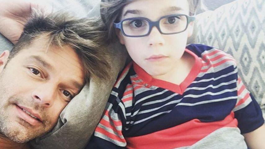 Stolzer Papa! Ricky Martin postet süße Fotos mit seinen Kids