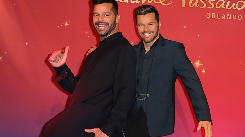 Sexy Duo! Ricky Martin bekommt Wachs-Doppelgänger