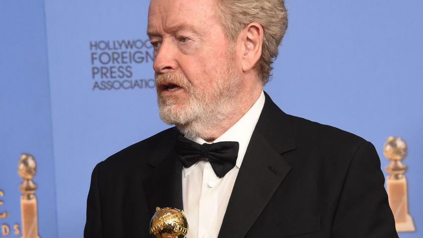 Ridley Scott mit seinem Golden Globe Award