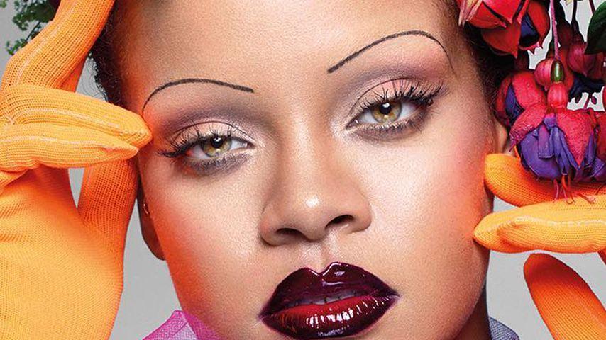 Fans entsetzt: Was ist mit Rihannas Augenbrauen passiert?