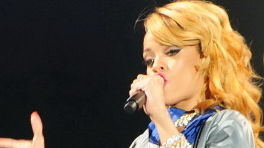 Auweia, Rihanna! Nach Busen-Blitzer nun unten ohne