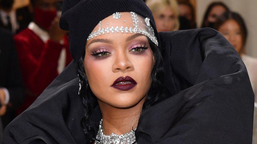 Rihanna auf der Met Gala in NYC im September 2021