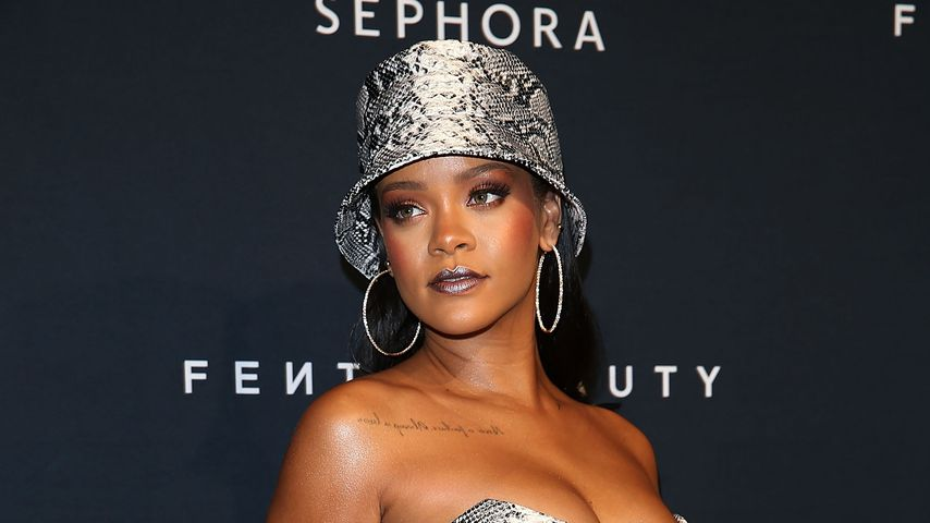 Rihanna im Oktober 2018