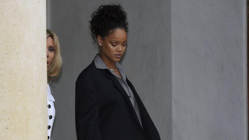 Rihanna in Paris 2017