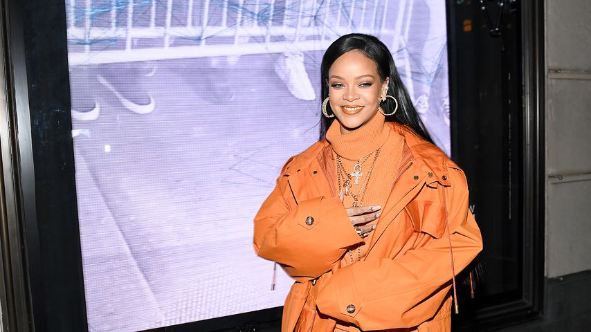 Rihanna in New York im Februar 2020