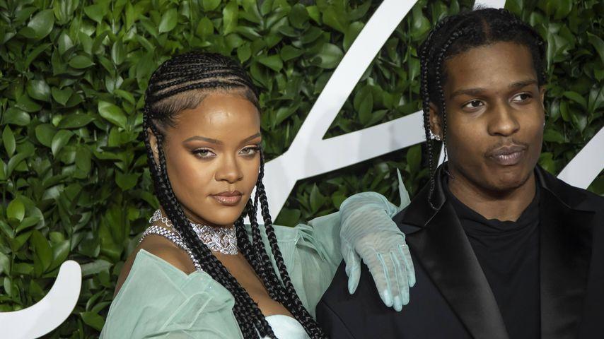 Knast-Konzert: Rihanna supportet A$AP Rocky in Schweden