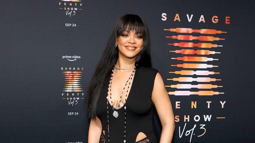 Rihanna im September 2021 in New York City