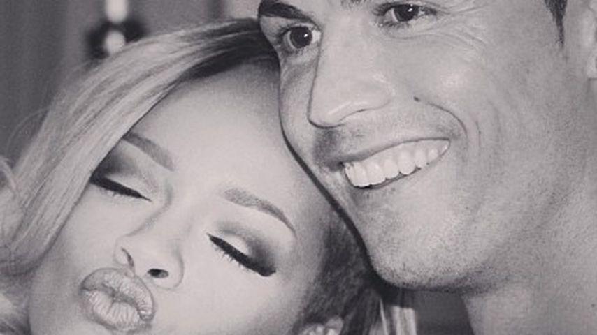 Pärchen-Alarm? Heißer Flirt bei Rihanna & Ronaldo!
