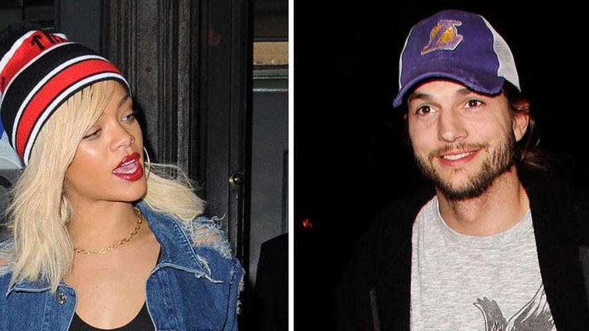 Rihanna: Nächtlicher Besuch bei Ashton Kutcher