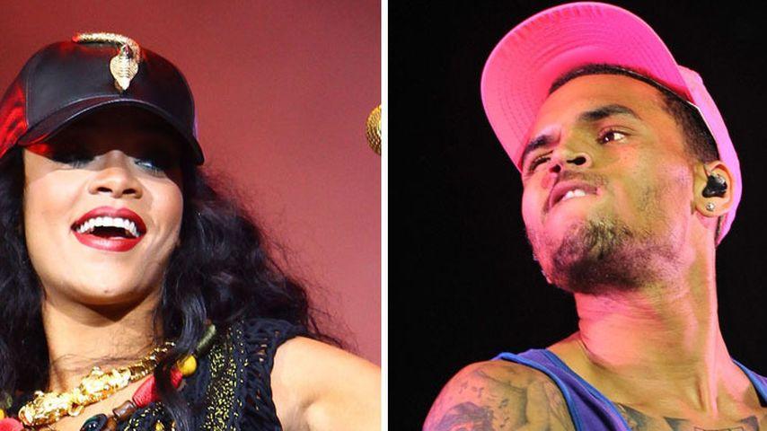 Rihanna & Chris Brown: Kurzurlaub auf ihrer Yacht?