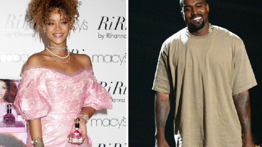 Rihanna würde ihn wählen: Kanye West for President!