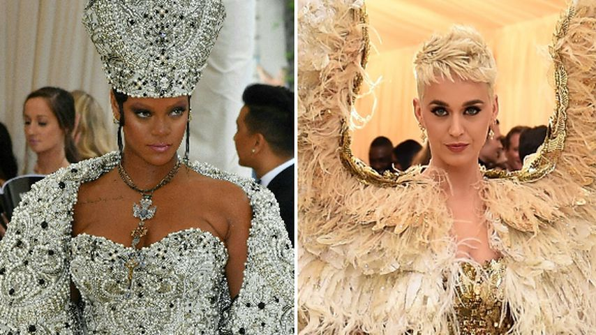 Beef bei Met Gala? Rihanna will Katy nicht auf ihrer Party!