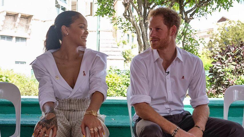 Rihanna und Prinz Harry auf Barbados 2016