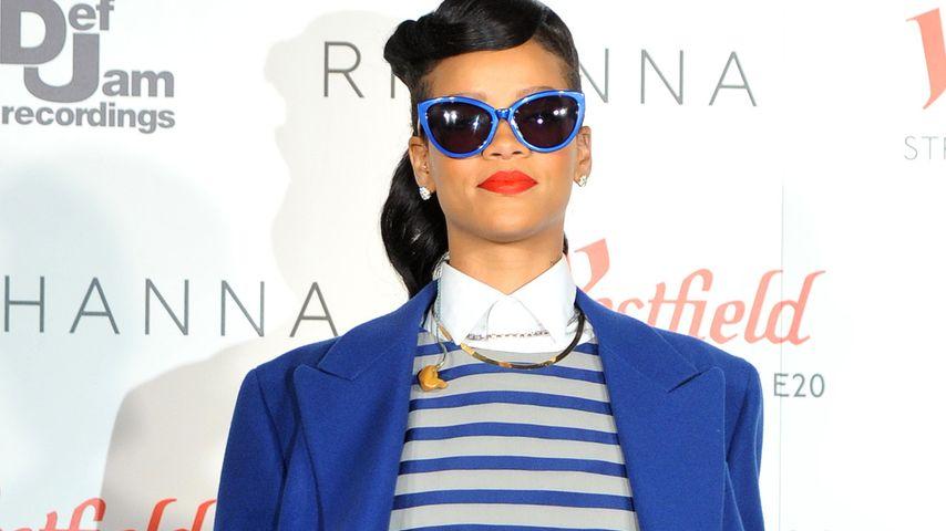 Rihanna: Von Kopf bis Fuß im Oversize-Look