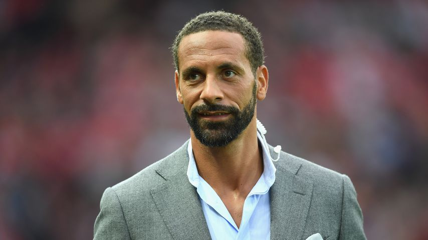Rio Ferdinand in Manchester