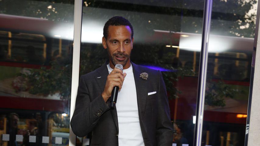Rio Ferdinand in London