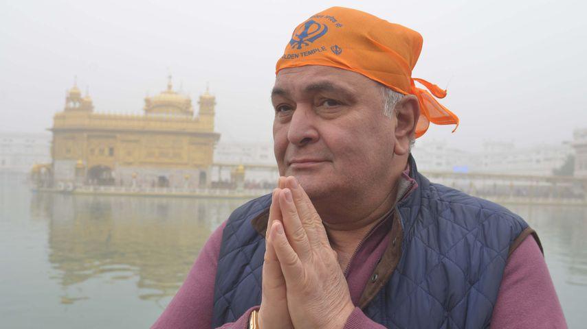 Rishi Kapoor im Dezember 2016 in Amritsar, Indien