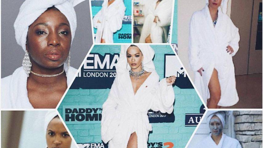 EMA-Nachwirkung: Fans kopieren Rita Oras Bademantel-Style!