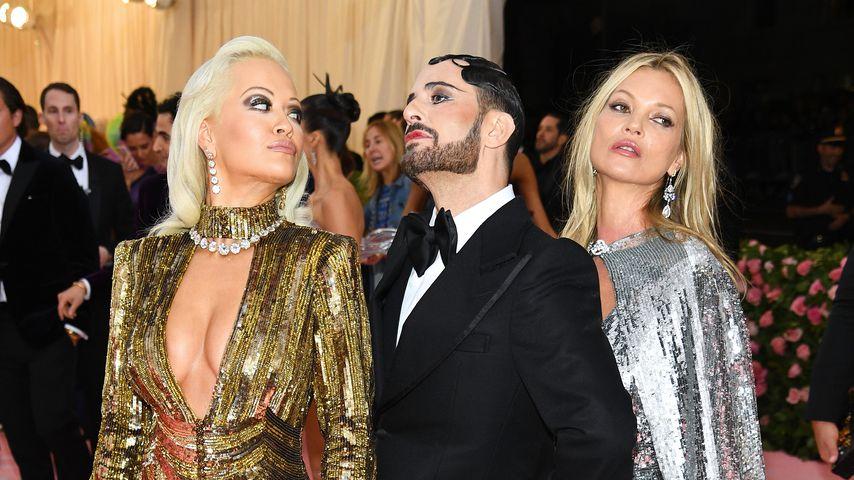 Rita Ora, Marc Jacobs und Kate Moss im Mai 2019 bei der Met Gala in New York