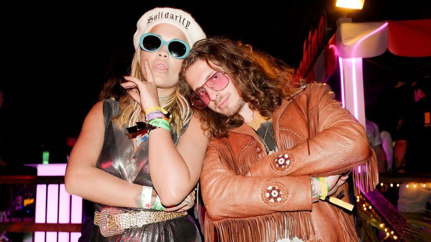 Rita Ora und Andrew Watt, 2018