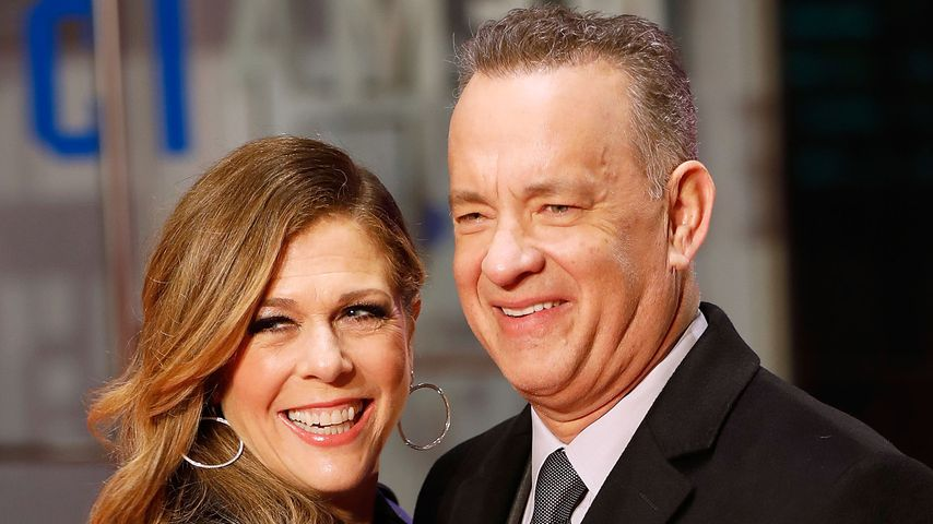 Rita Wilson und Tom Hanks bei einer Filmpremiere in London