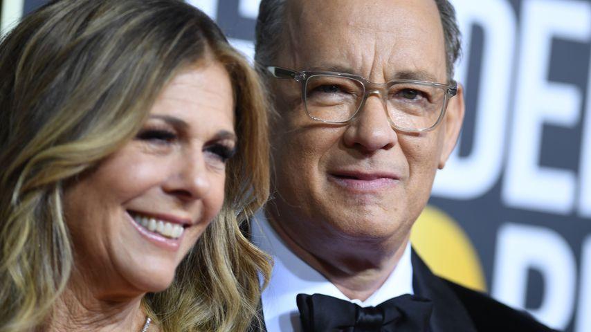 Rita Wilson und Tom Hanks bei den Golden Globes 2020