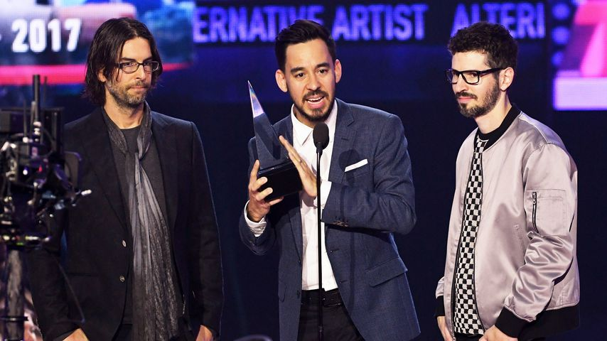 Rob Bourdon, Mike Shinoda und Brad Delson bei den American Music Awards 2017