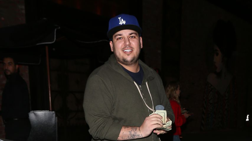 Rob Kardashian in Los Angeles
