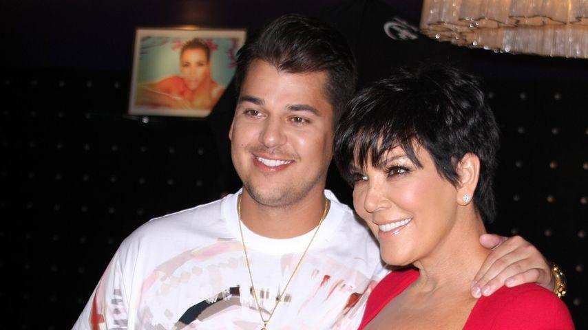 Kohle von Mami: Rob Kardashian noch von Kris Jenner abhängig