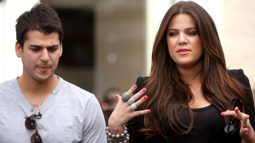 Beef mit Bruder! Khloe Kardashian beschimpft Rob im TV