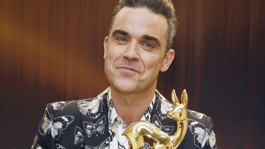 Total heiß mit 42: Robbie Williams verrät seine Beauty-Tipps