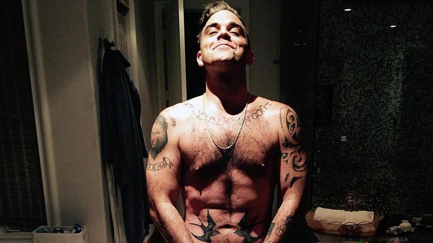 41. Geburtstag: Robbie Williams feiert heute nackt