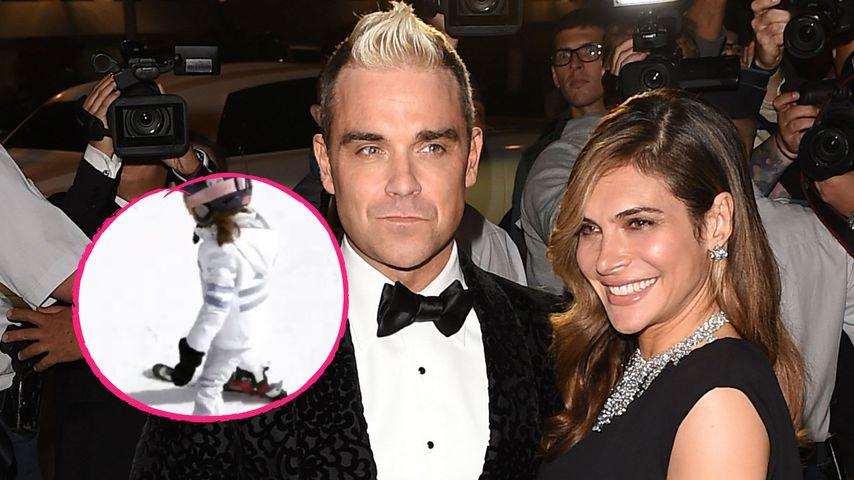 Mit 5 Jahren: Robbie Williams & Aydas Tochter ist Ski-Profi!