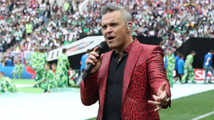 Robbie Williams mit dem Corona-Virus infiziert!