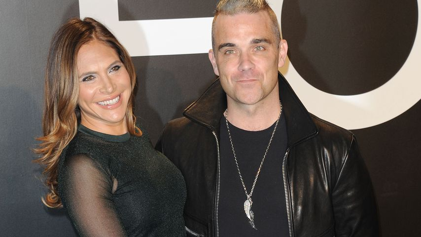 Robbie Williams & Ayda: Lustige Tanz-Moves im Leo-Look!