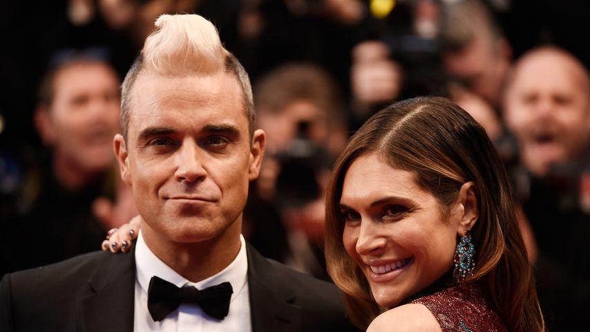 Mit Karten: So machte Robbie Williams seiner Ayda den Antrag