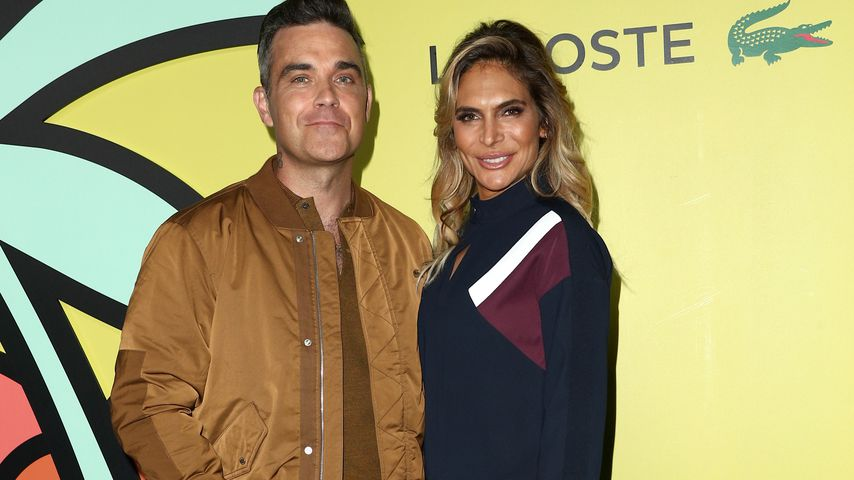 Robbie Williams und Ayda Field Williams